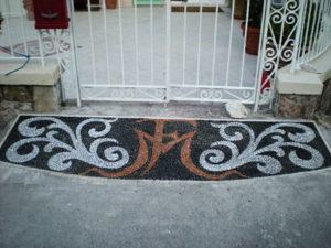Pavimentazione realizzata da Marzia Bettolla