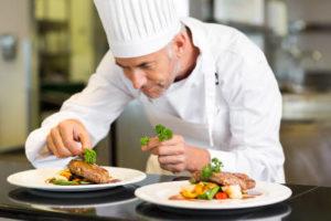 Cuoco e muratore: entrambe devono essere capaci di selezionare le migliori materie prime